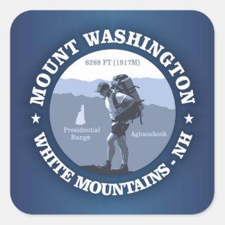 Mount Washington Square Sticker