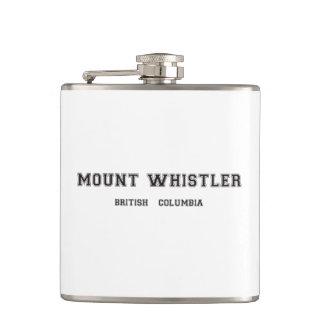 Mount Whistler British Columbia Hip Flask
