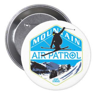 Mountain Air Patrol 7.5 Cm Round Badge
