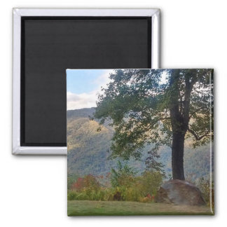 Mountain and Tree Magnet