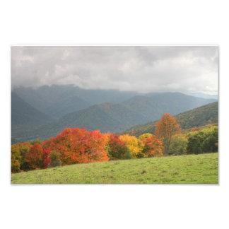 Mountain Autumn Print Photograph