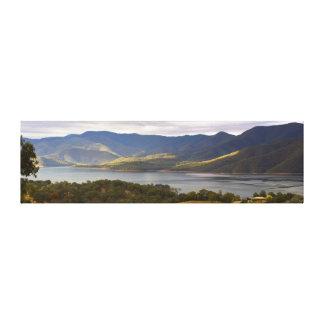 Mountain Bay Panorama1 Gallery Wrap Canvas