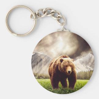 Mountain Bear Key Ring