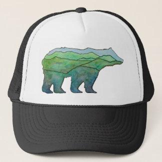 Mountain Bear Trucker Hat