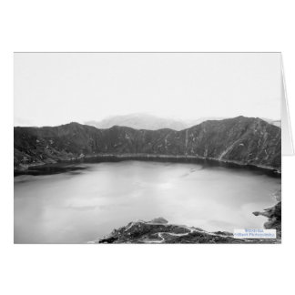 Mountain Beauty Black and White (4.0) Card