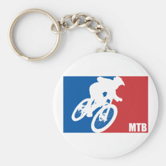 Mountain Bike All-Star Key Ring
