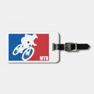 Mountain Bike All-Star Luggage Tag