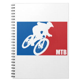 Mountain Bike All-Star Notebook