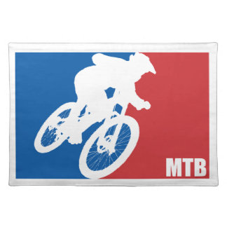 Mountain Bike All-Star Placemat