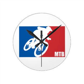 Mountain Bike All-Star Round Clock