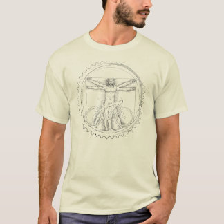 Mountain Bike Art T Shirt