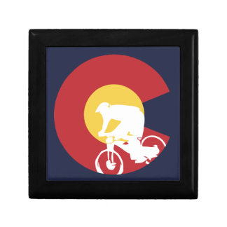 Mountain Bike Colorado Gift Box