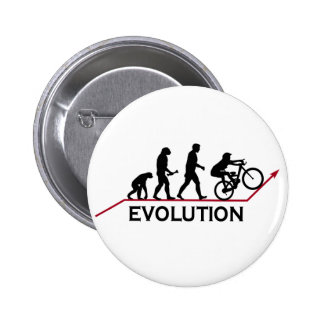 Mountain Bike Evolution Pinback Buttons