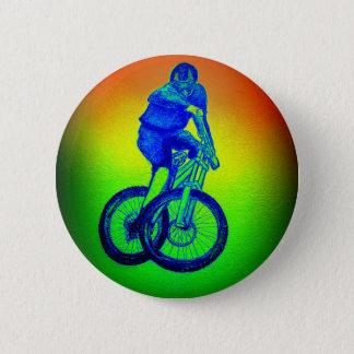 Mountain bike Llandegla mtb bmx 6 Cm Round Badge