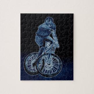 Mountain bike Llandegla mtb bmx Jigsaw Puzzle