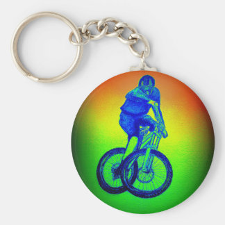 Mountain bike Llandegla mtb bmx Key Ring