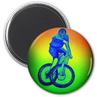 Mountain bike Llandegla mtb bmx Magnet