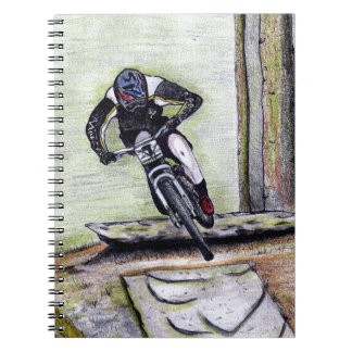 Mountain bike Llandegla mtb bmx Notebook