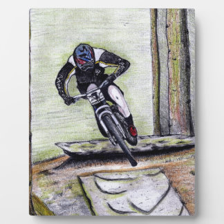 Mountain bike Llandegla mtb bmx Plaque