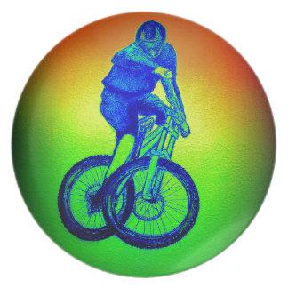 Mountain bike Llandegla mtb bmx Plate