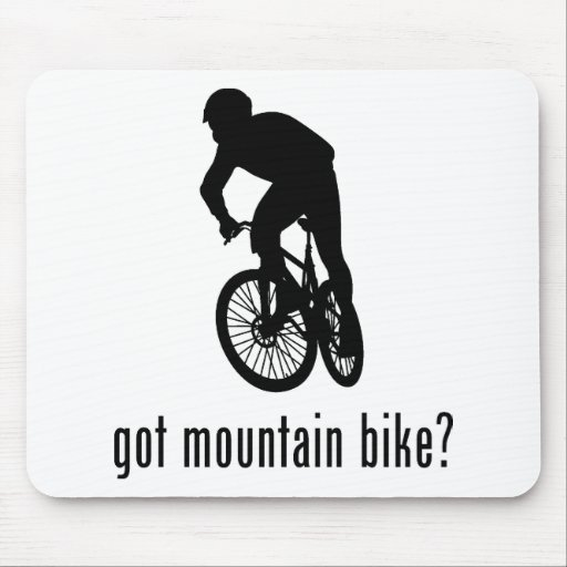 Mountain Bike Mouse Pads