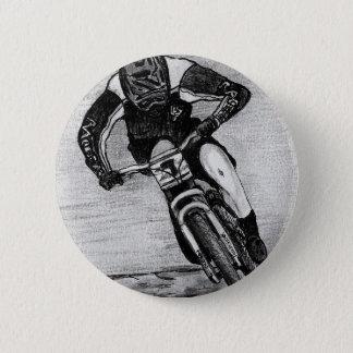 Mountain Bike Ride 6 Cm Round Badge