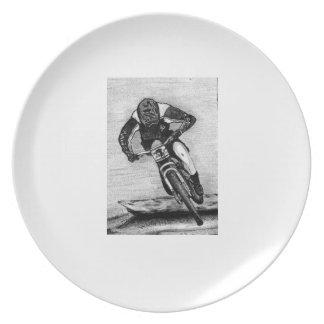 Mountain Bike Ride Plate