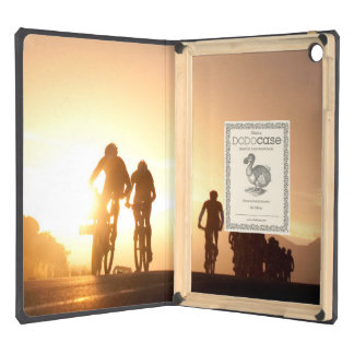 Mountain Bike Riders Make Their Way Over The Top iPad Air Case