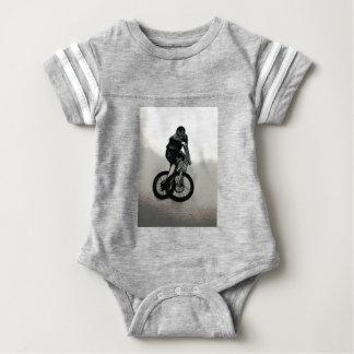 Mountain Biker MTB BMX CYCLIST Baby Bodysuit