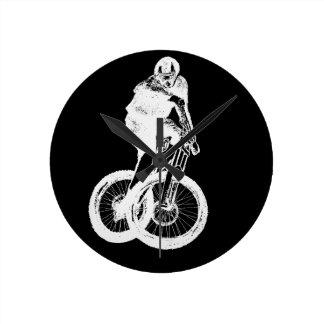 Mountain Biker MTB BMX CYCLIST Clock