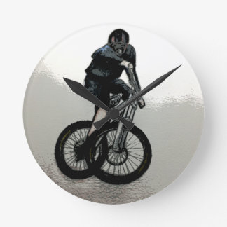 Mountain Biker MTB BMX CYCLIST Clocks
