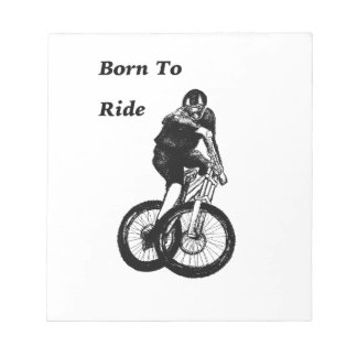Mountain Biker MTB BMX CYCLIST Cyclo cross Notepad