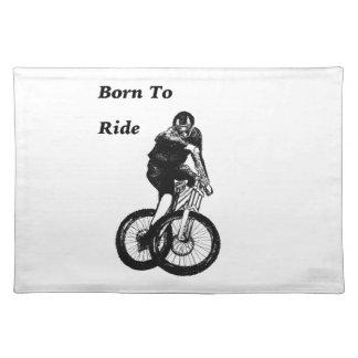Mountain Biker MTB BMX CYCLIST Cyclo cross Placemat
