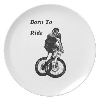 Mountain Biker MTB BMX CYCLIST Cyclo cross Plate