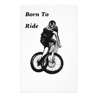 Mountain Biker MTB BMX CYCLIST Cyclo cross Stationery