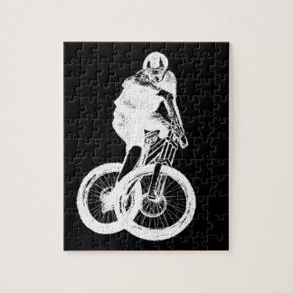 Mountain Biker MTB BMX CYCLIST Jigsaw Puzzle