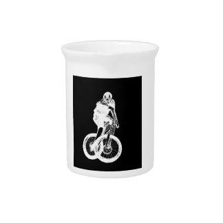 Mountain Biker MTB BMX CYCLIST Pitcher