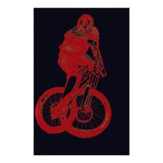 Mountain Biker MTB BMX CYCLIST Stationery