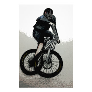 Mountain Biker MTB BMX CYCLIST Stationery