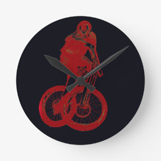 Mountain Biker MTB BMX CYCLIST Wall Clock