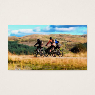 MOUNTAIN BIKING BUSINESS CARD