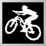 Mountain Biking Fast Poster