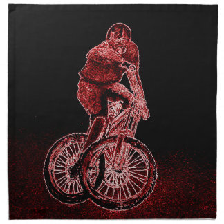 Mountain Biking Napkin