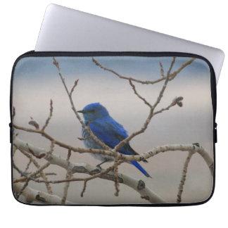 Mountain Bluebird Laptop Sleeve
