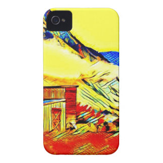 Mountain Cabin Case-Mate iPhone 4 Cases