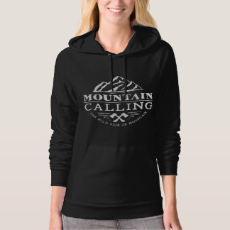 Mountain Calling The Wild Side Of Mountain Hoodie
