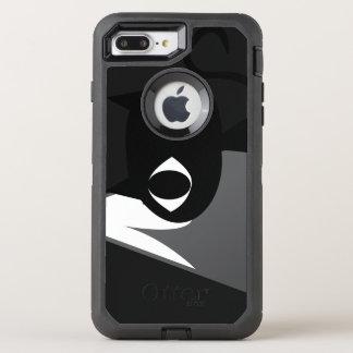 Mountain cat OtterBox defender iPhone 8 plus/7 plus case