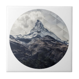 Mountain Ceramic Tile