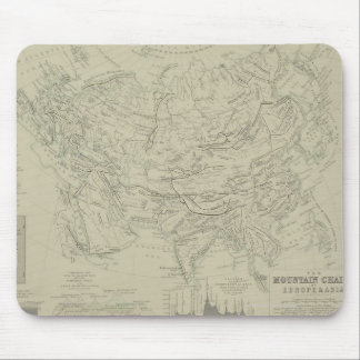 Mountain Chains Mouse Pad