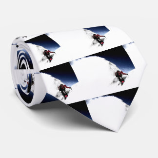 Mountain Climber Extreme Sports Tie